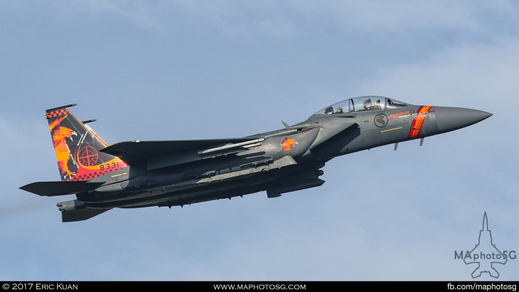 Republic of Singapore Air Force 142Sqn F-15SG