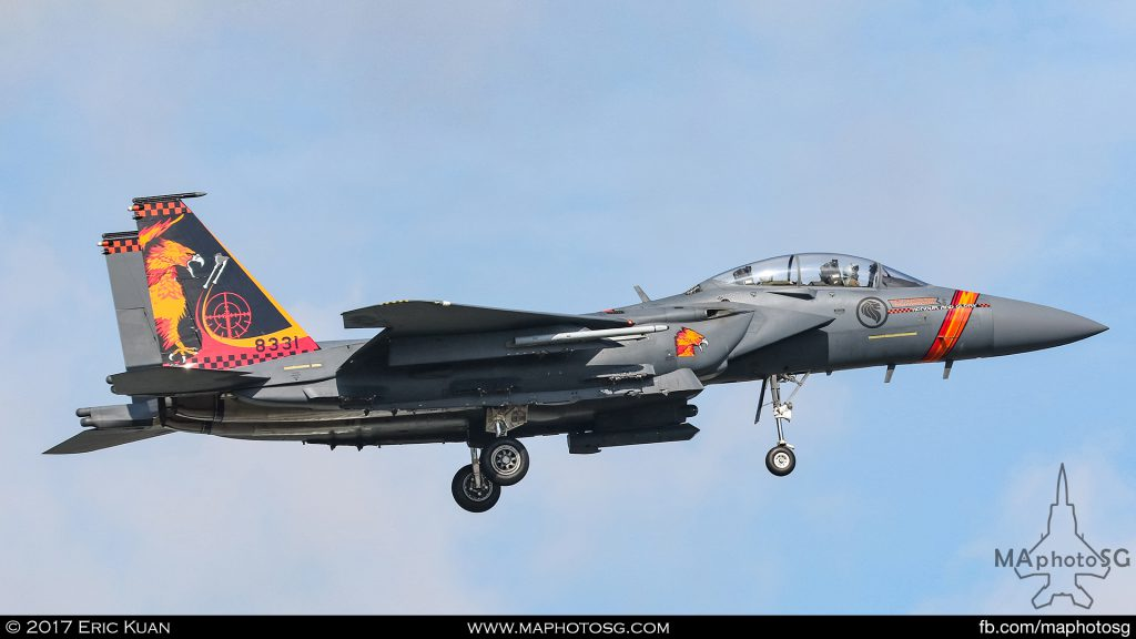 Republic of Singapore Air Force 142 Sqn F-15SG