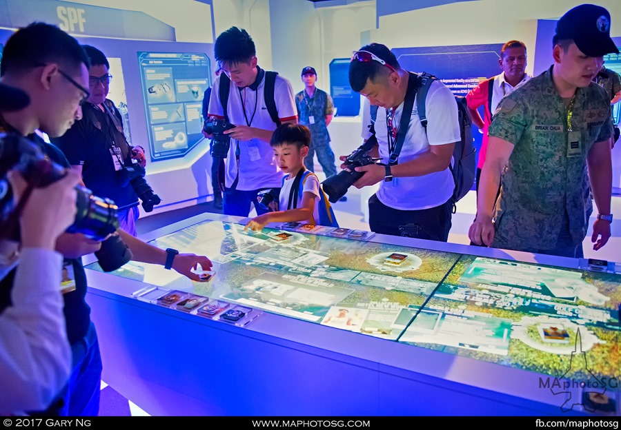 Army Open House 2017 at F1 Pit - NS50 Exhibition