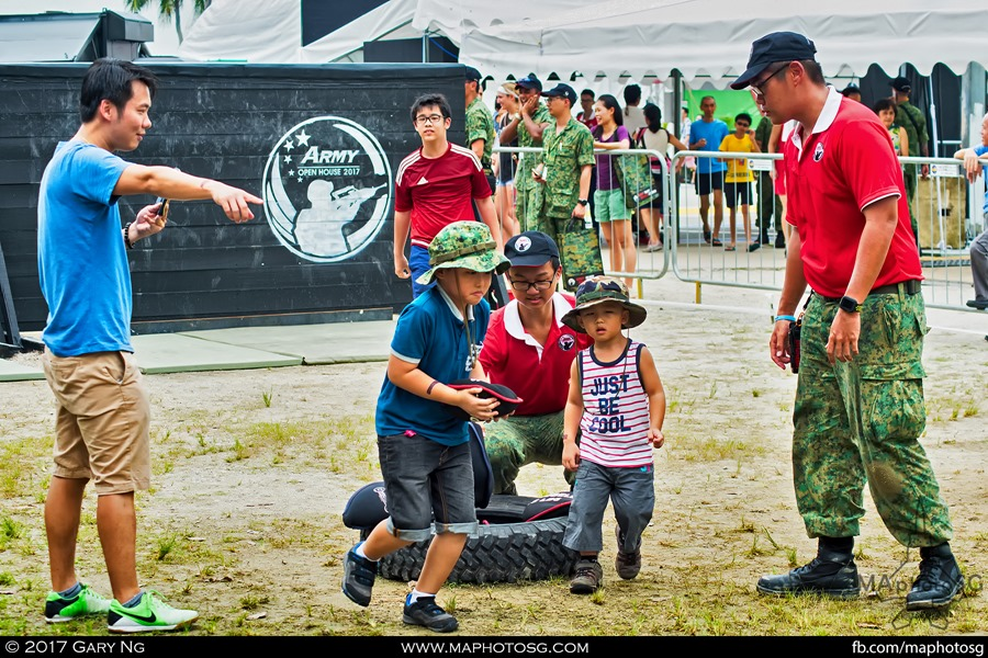 Army Open House 2017 at F1 Pit - Soldier Strong Challenge