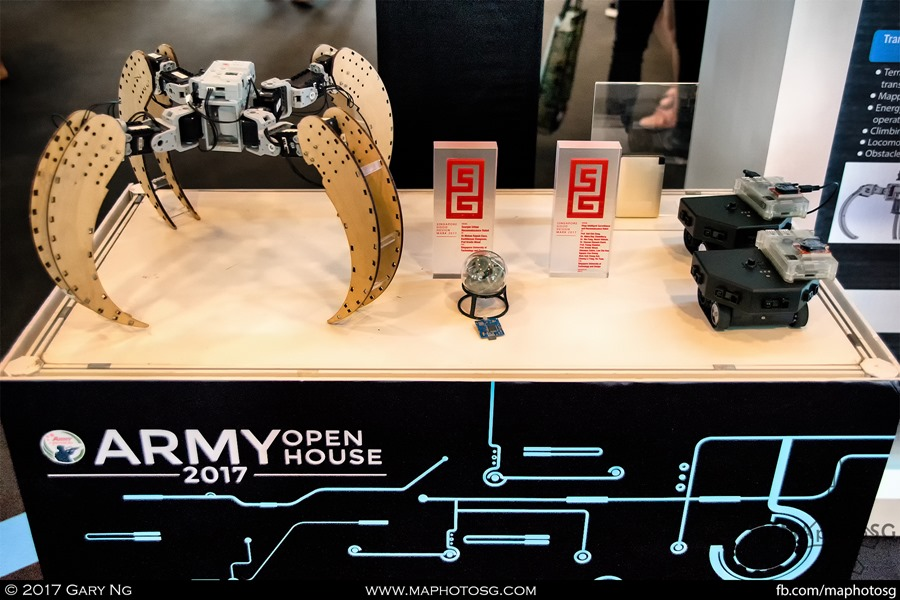 Army Open House 2017 at F1 Pit - Technology & Innovation Zone