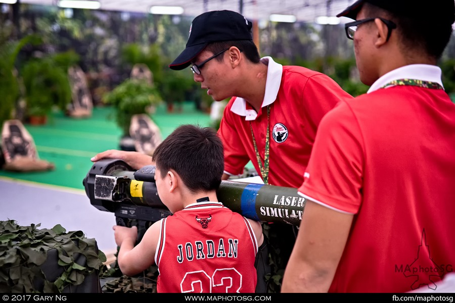 Army Open House 2017 at F1 Pit - Battlefield Zone
