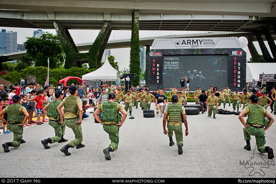 Army Open House 2017 at F1 Pit - Main Stage