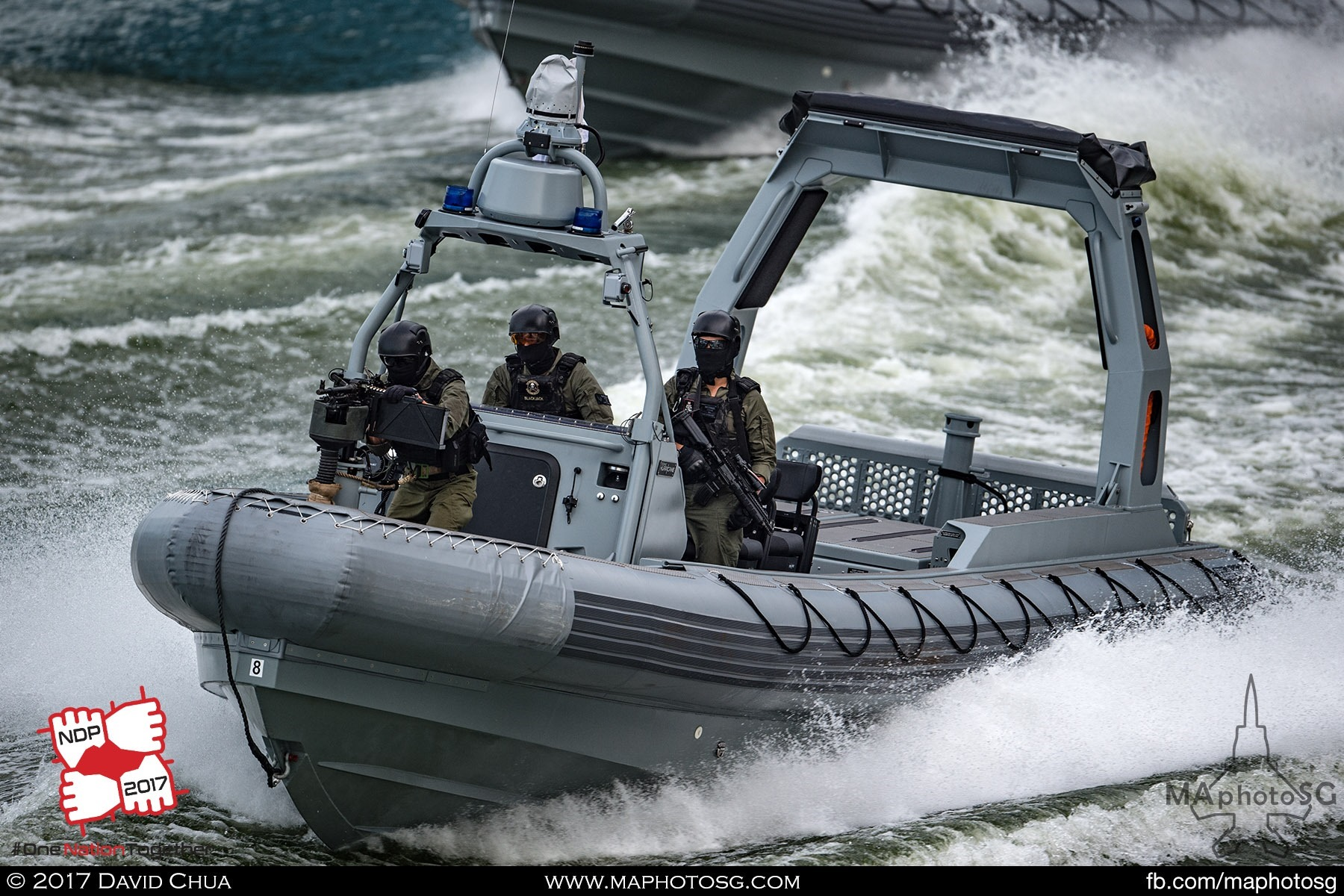 13. Navy Combatant Craft Medium with troopers.