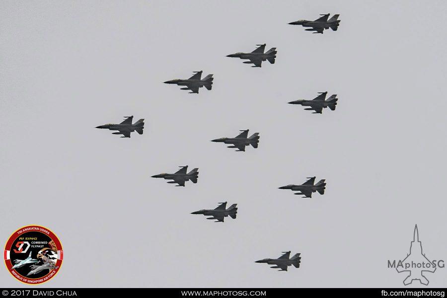 RSAF Arrow Formation