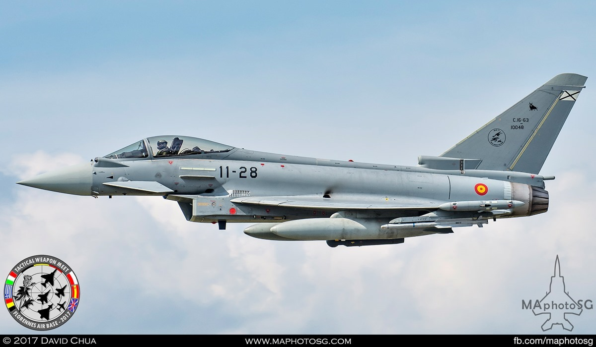 31. Spanish Air Force Eurofighter Typhoon (11-28) from Ala 11