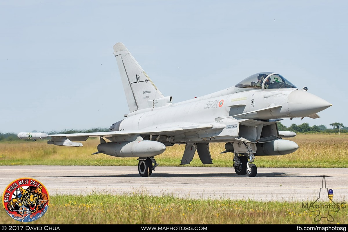Italian Air Force XII Gruppo  EF-2000 Typhoon (36-21)