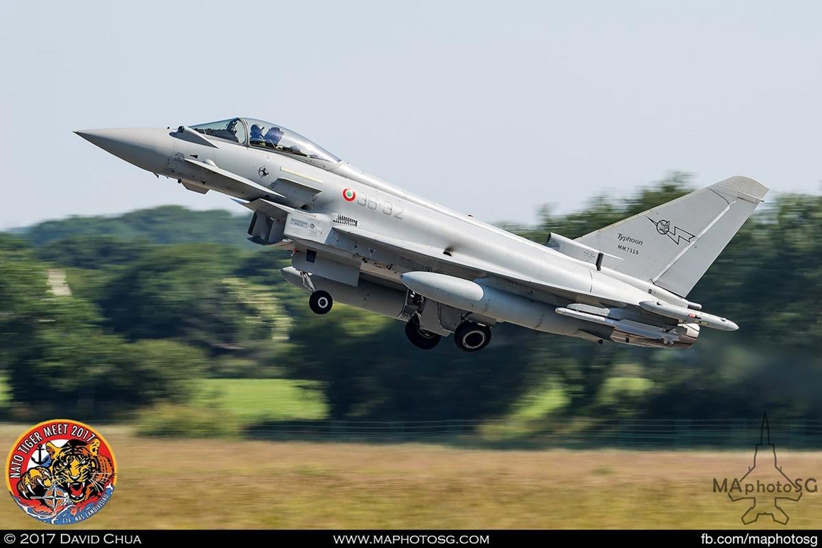 Italian Air Force XII Gruppo  EF-2000 Typhoon (36-32)