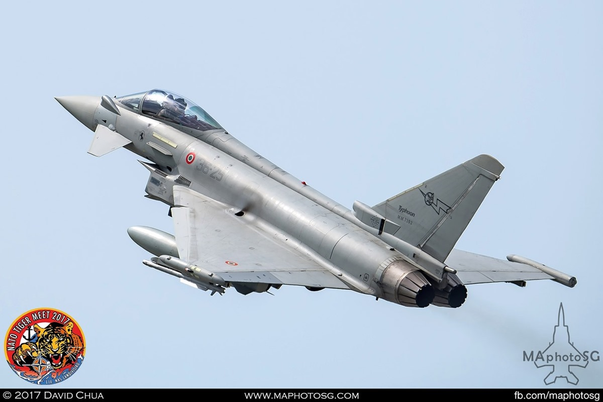 Italian Air Force XII Gruppo  EF-2000 Typhoon (36-25)