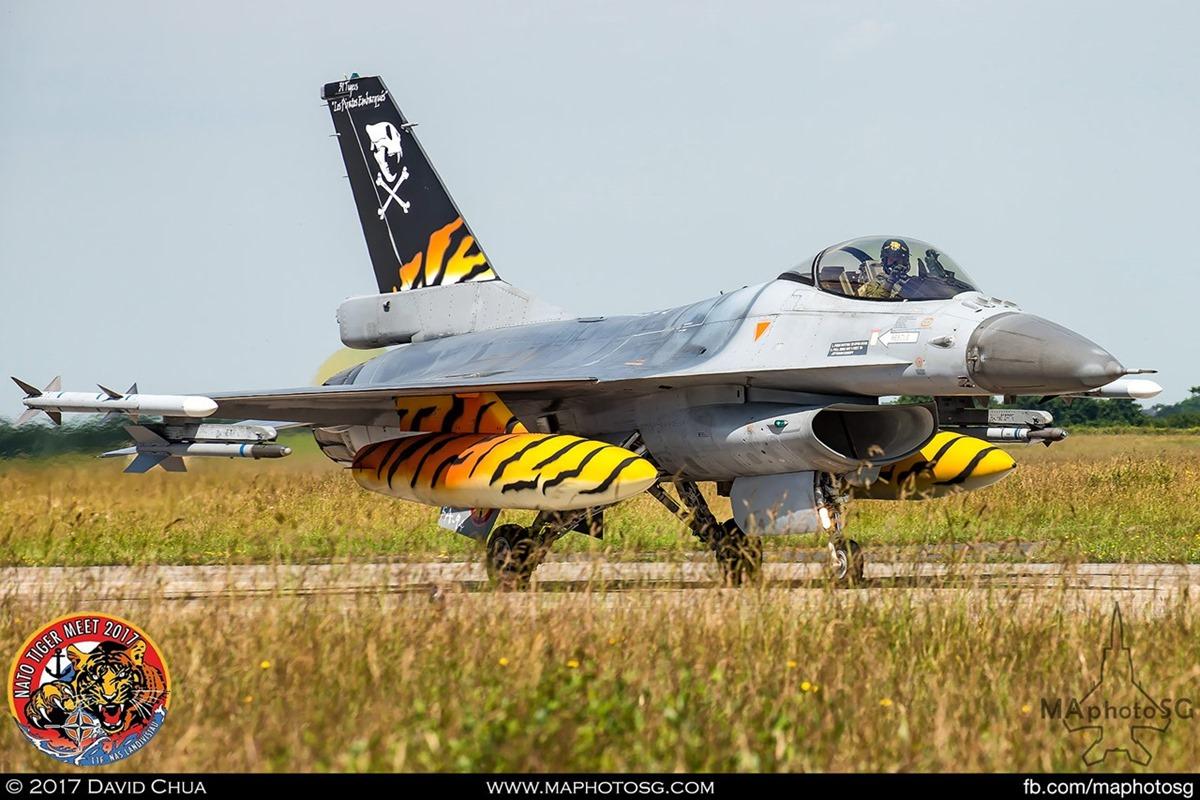 Belgium Air Force 31 Squadron F-16A MLU Fighting Falcon (FA-94)