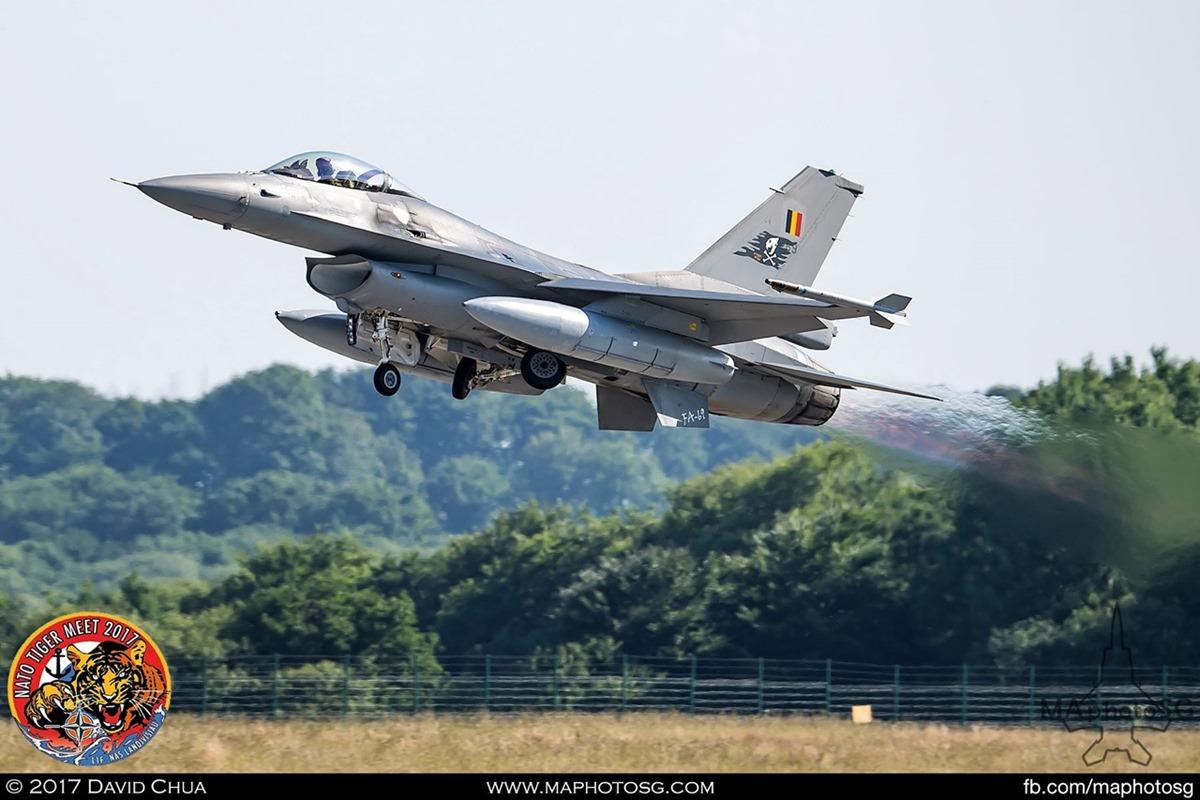 Belgium Air Force 31 Squadron F-16A MLU Fighting Falcon (FA-69)