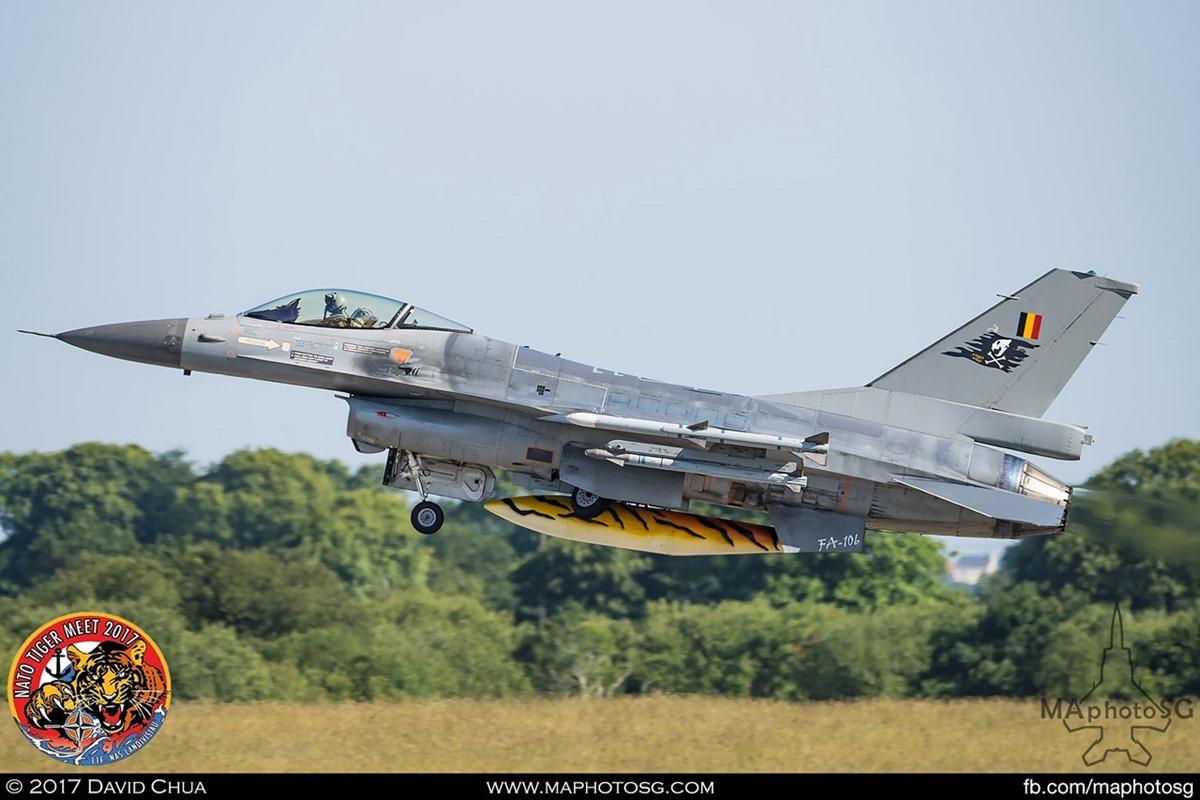 Belgium Air Force 31 Squadron F-16A MLU Fighting Falcon (FA-106)
