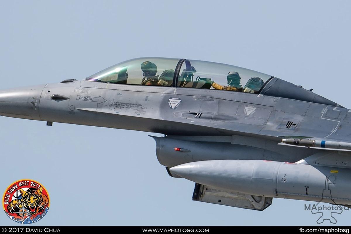 Belgium Air Force 31 Squadron F-16B MLU Fighting Falcon (FB-15)