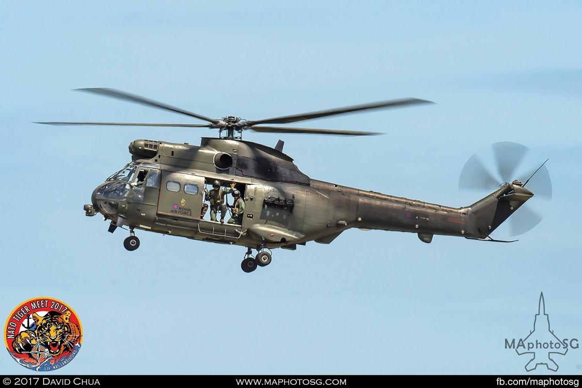 Royal Air Force 230 Squadron Puma HC Mk2
