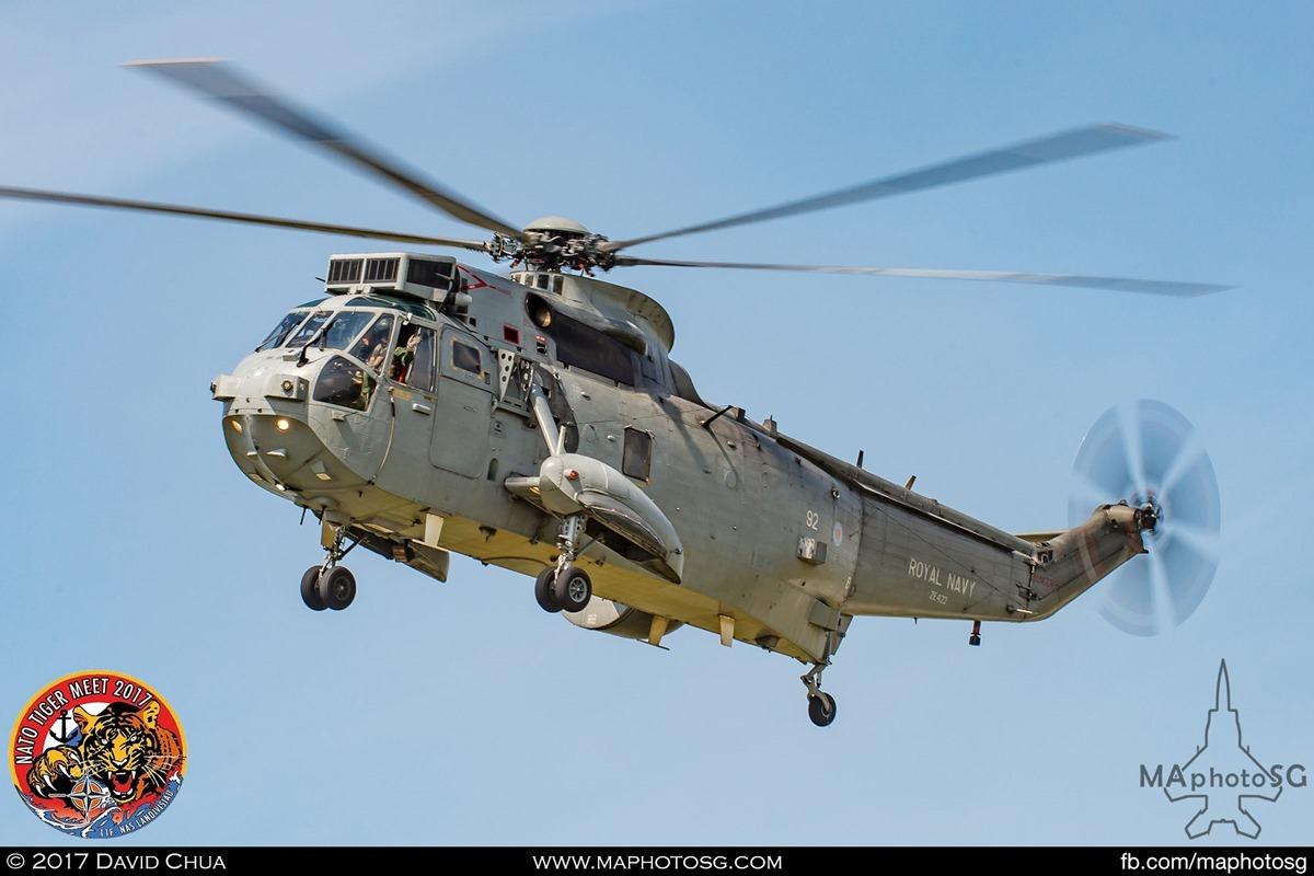 Royal Navy 849 Naval Air Squadron Sea King ASaC Mk7