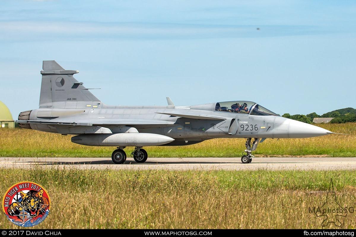 Czech Air Force 211 Taktcká Letka JAS-39C Gripen (9236)