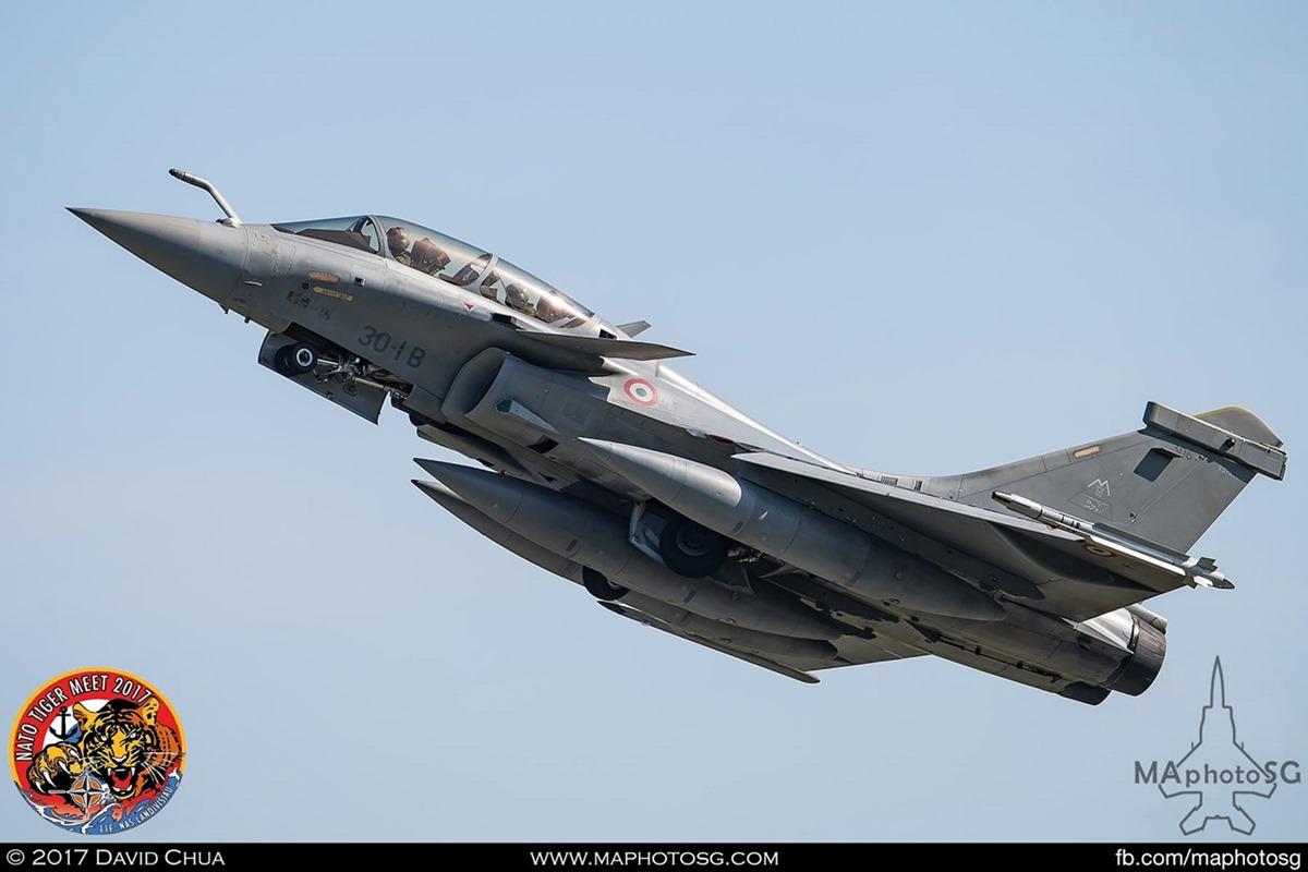French Air Force Rafale B (30-IB)