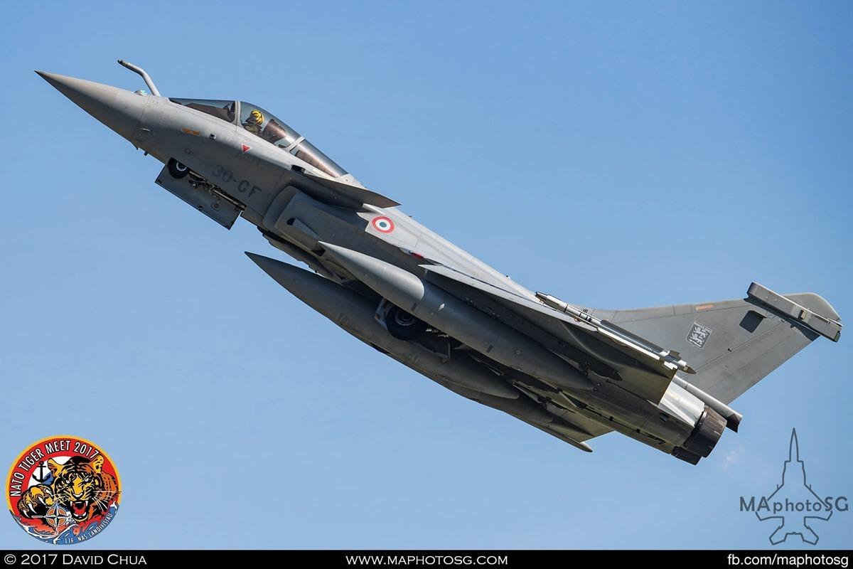French Air Force Rafale C (30-GF)