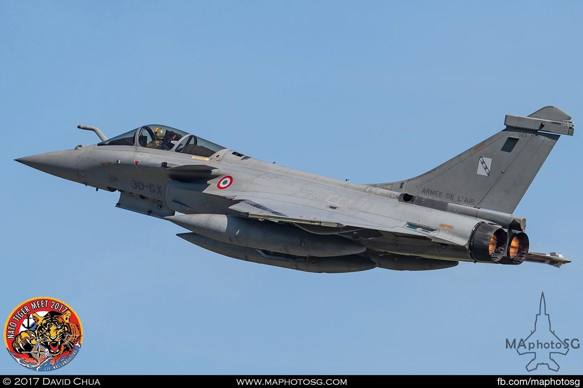 French Air Force Rafale C (30-GX)