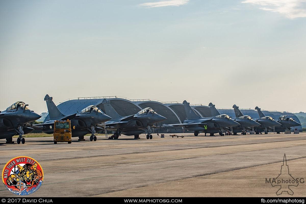 BAN Landivisiau Rafale M Flight Line