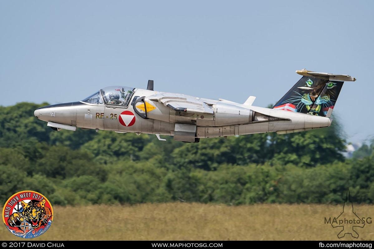 Austrian Air Force 1 Jet Trainer Squadron Saab 105Ö (RE-25)