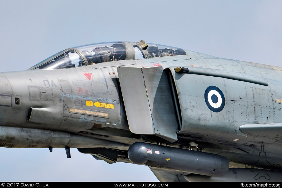 Hellenic Air Force 338 MIRA F-4E Phantom II (01512) Weapon Systems Officer