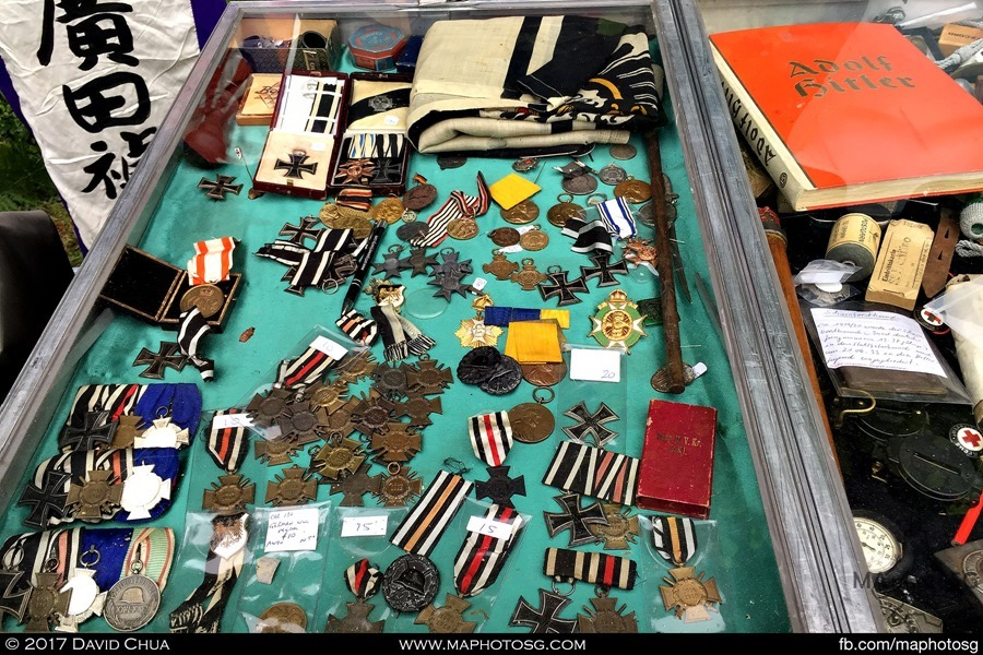 Medals and badges for sale