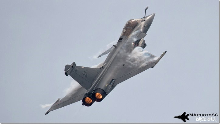 Rafale in Singapore Airshow 2016