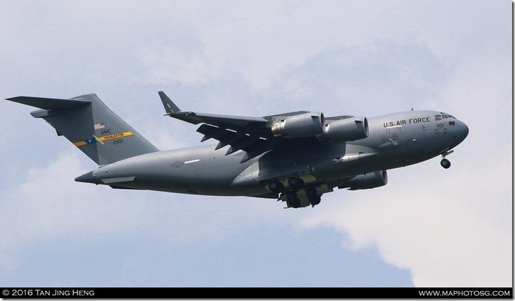 13 C17 landing