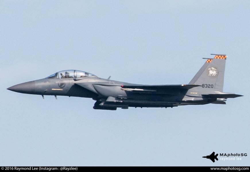 RSAF F-15SG 142Sqn