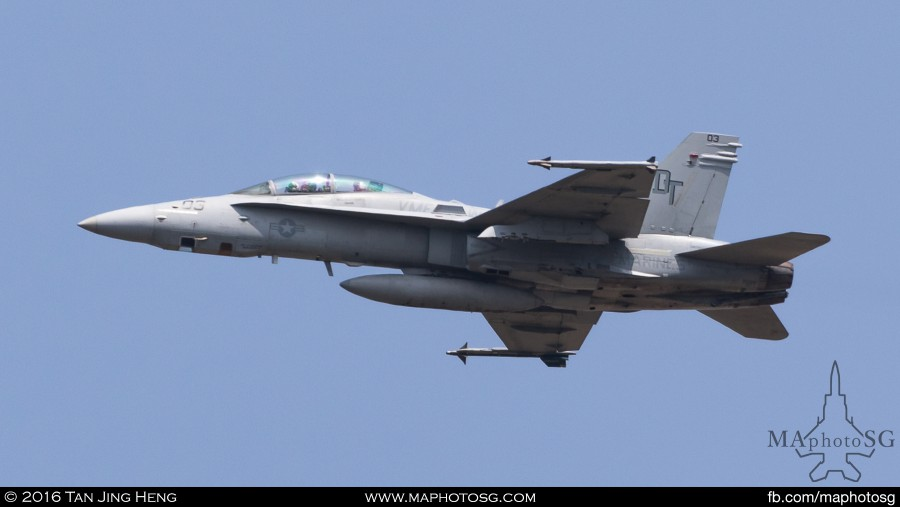 Command Sling 16-2 VMFA242 F-18