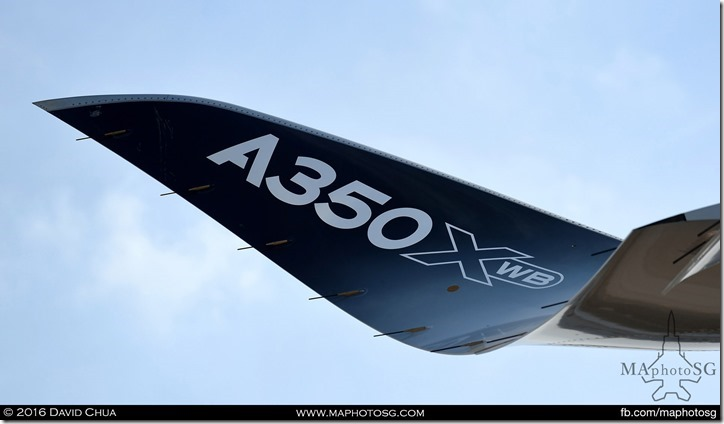 Signature Curved Wings of the A350