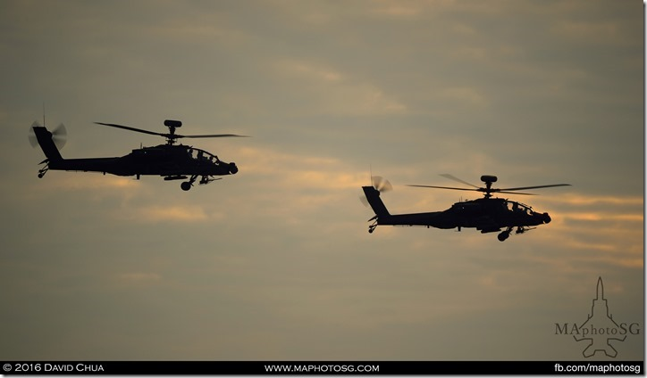 AH-64D Apache Helicopters