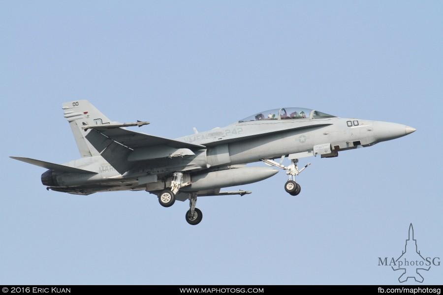 F-18 VMFA242 in Commando Sling 16-2