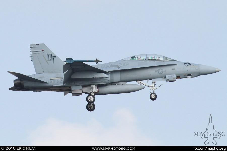 FA-18 VMFA242 in Commando Sling 16-2