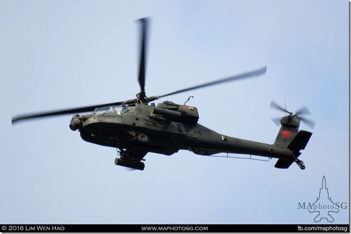 AH-64D Apache Helicopter
