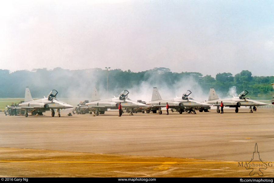 RSAF F-5S Tiger IIs