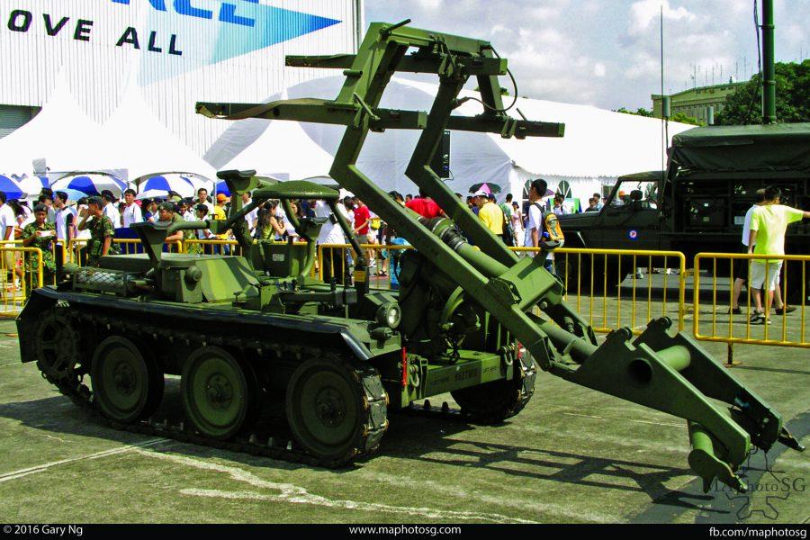RSAF HAWK XM-501 Full Tracked Transporter/Loader