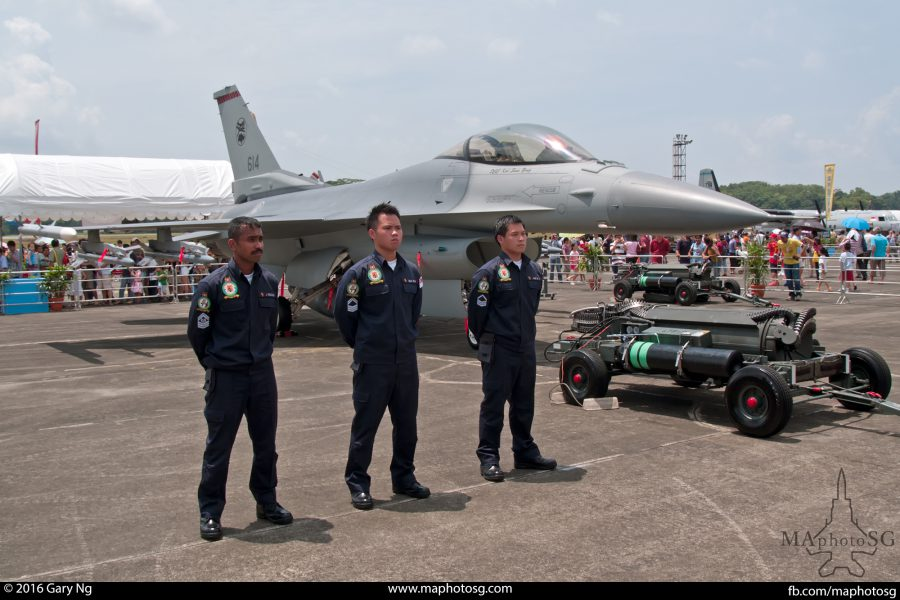RSAF F-16, Open Houe 2006