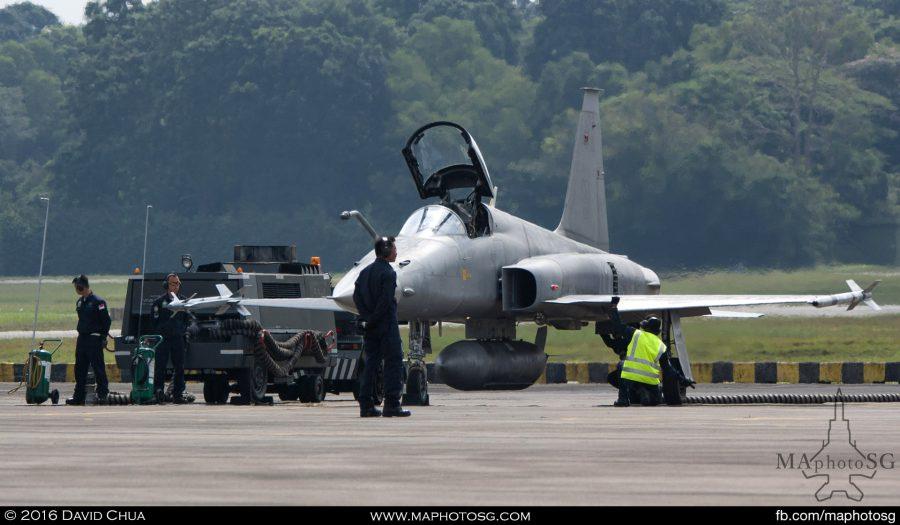 RSAF F-5