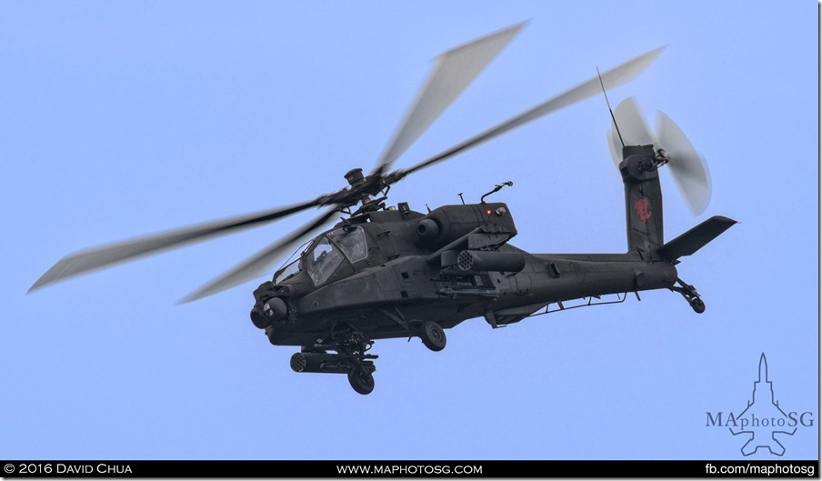 AH-64D Longbow Apache covering the ground troups