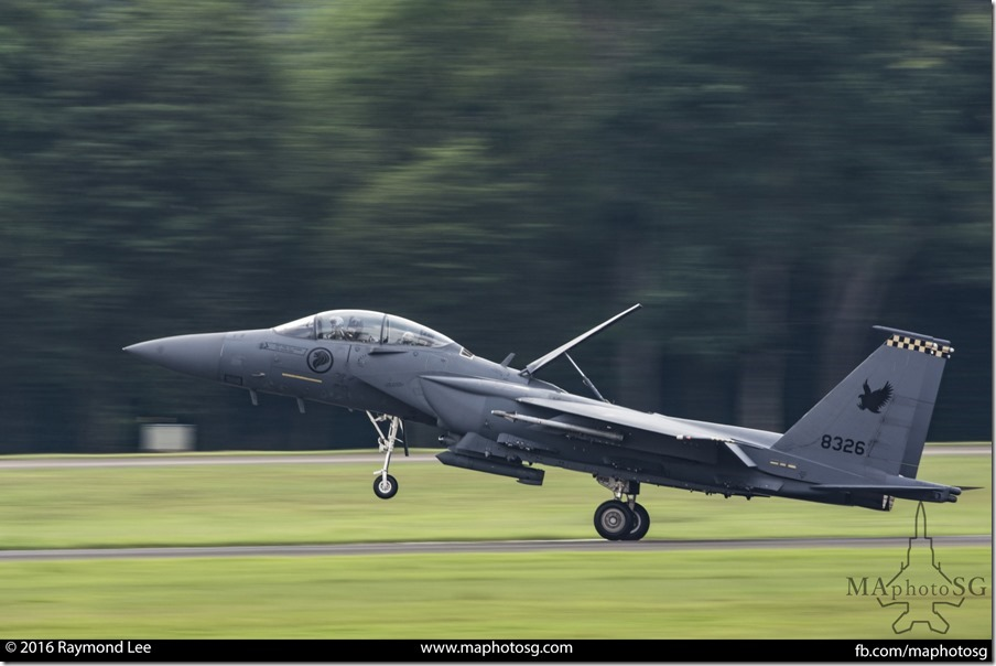 Mission Accomplished – F-15SG Return to Base