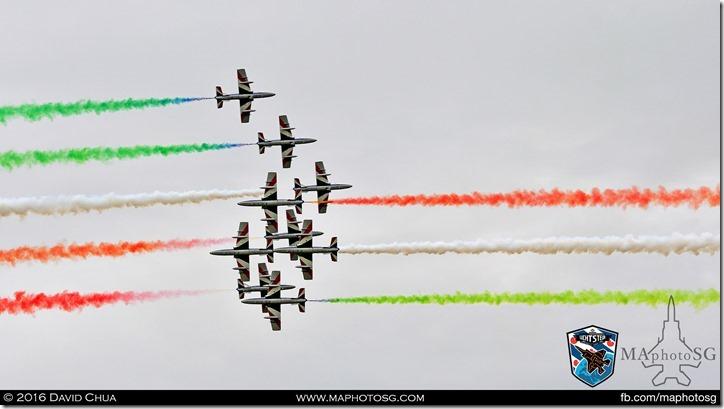 23 - Frecce Tricolori (10 x Aermacchi MB-339-A/PAN)