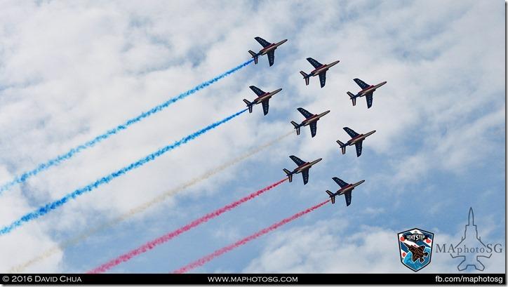 26 - Patrouille de France (8 x Dassault/Dornier Alpha Jet)
