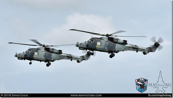 21 – Royal Navy Black Cats (2 x AgustaWestland Wildcat HMA.2)