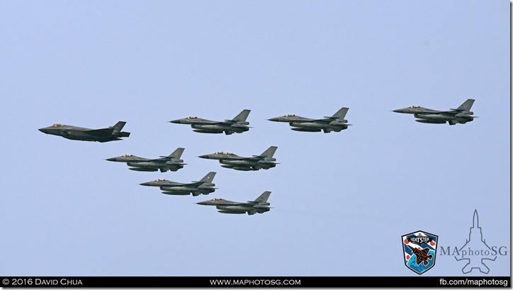 F-35A Leading Fighter Formation