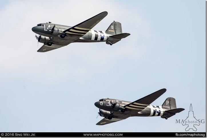 Douglas C-47 Skytrain duo