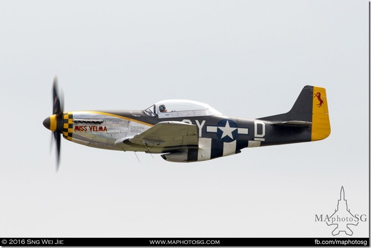 North American TF-51D Mustang Miss Velma