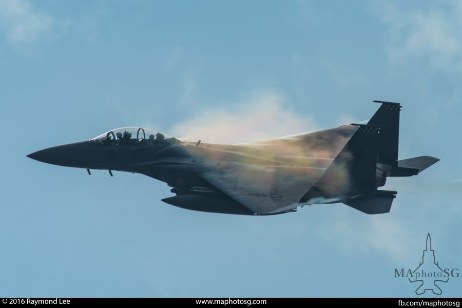 RSAF F-15SG for Ex Pitch Black 2016