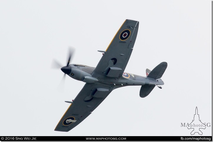 Supermarine Spitfire of Battle of Britain Memorial Flight, RAF Coningsby